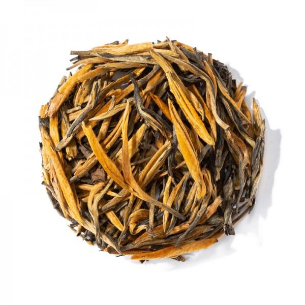 """Китайский красный чай """"Золотые почки медовые"""""""
