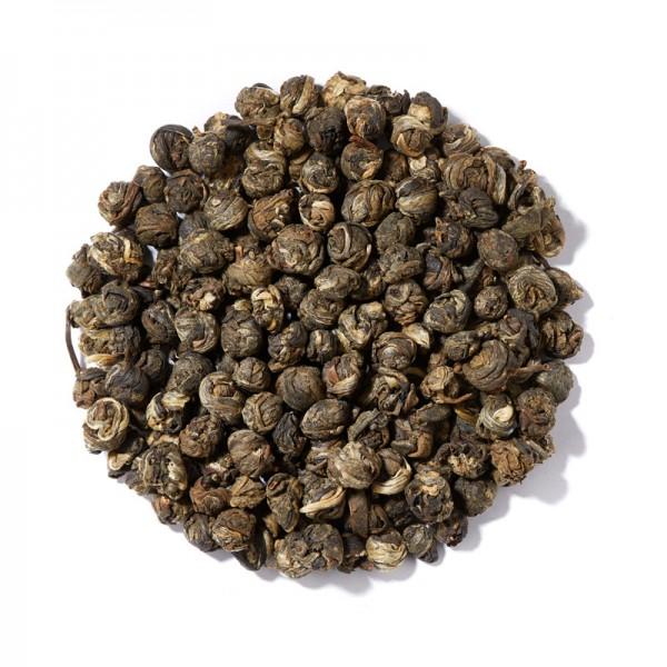Белый китайский чай Жасминовая жемчужина дракона, Фуцзянь