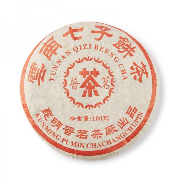 Пуэр Юннань Кижи Бин Ча, 100гр