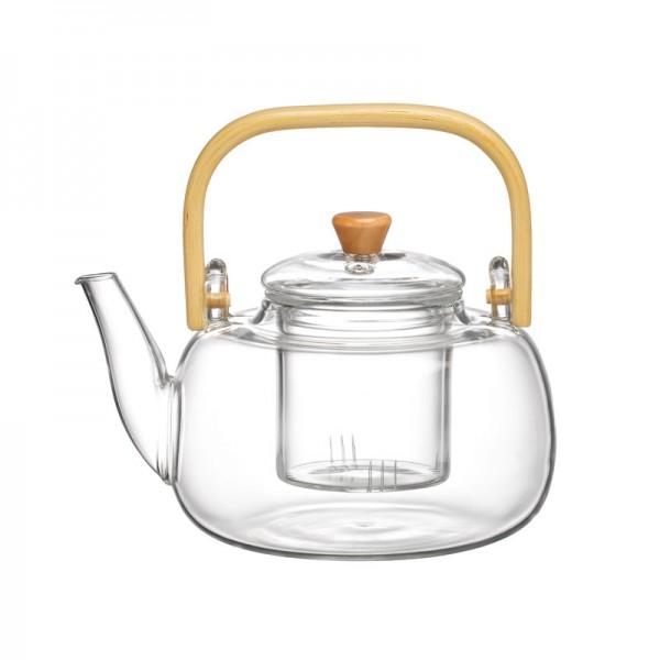 """Чайник с деревянной ручкой """"Циндао"""", 1000 мл (ITT-71)"""